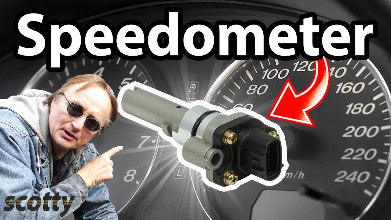How To Fix A Speedometer Gauge In Your Car Speed Sensor Youtube 2008 Kia Spectra Fuse Box