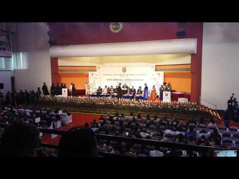 NLSIU Bangalore Convocation 2017