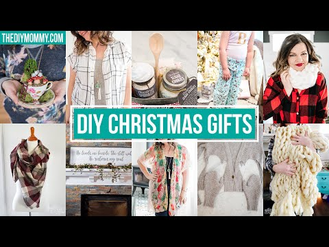 10 SIMPLE DIY CHRISTMAS GIFTS 🎁
