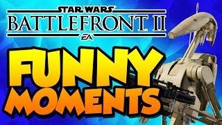 ROGER ROGER!!! || Star Wars Battlefront 2 Beta Funny Moments