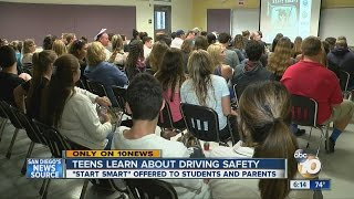 """Teens learn about driving safety at """"Start Smart"""" class"""