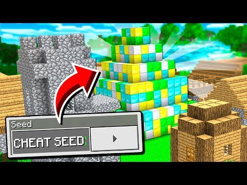 This SEED is SO GOOD I Was Accused of CHEATING in Minecraft!