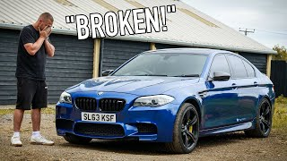 I BOUGHT THE CHEAPEST F10 BMW M5 IN THE UK!