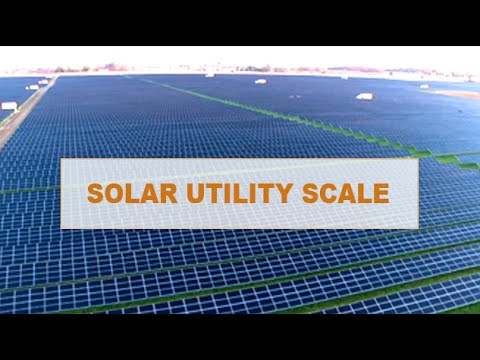 Solar Electricity Utility Scale & Copper