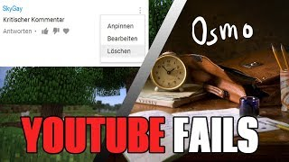 SkyGuy löscht Kritik / Hannah Dette schickt Osmo zur Schule - Youtube Fails #15