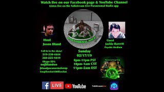 Paranormal Soup Ep 170 guest Jackie Barrett