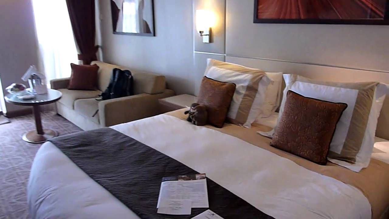 Celebrity Solstice Sky Suite tour - YouTube