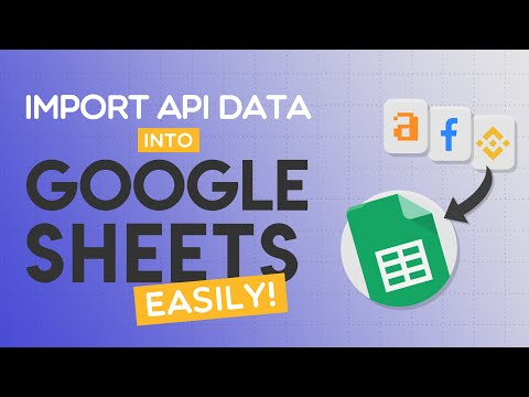 Import API into Google Sheets Without Scripts: Apipheny Demo 2020