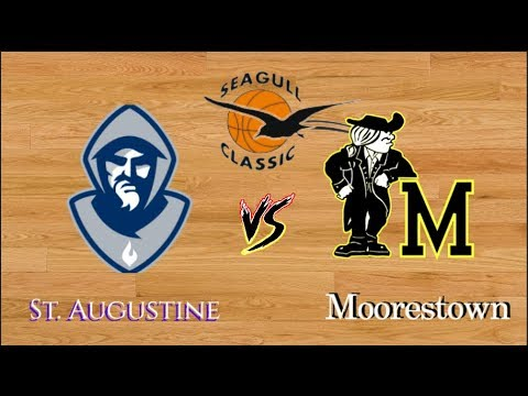 BASKETBALL: St .Augustine v. Moorestown