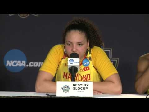 News Conference: Maryland Sweet Sixteen Postgame