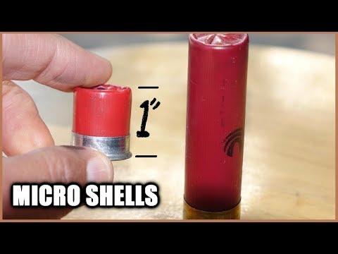 MICRO Shotgun Shells -  How LOW can you go?