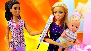 Штеффи объелась конфет. Игры для девочек в куклы Барби