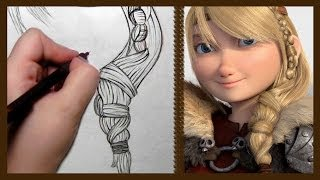 How to Draw Astrid