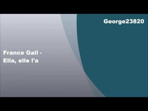 France Gall - Ella, elle l'a, Lyrics