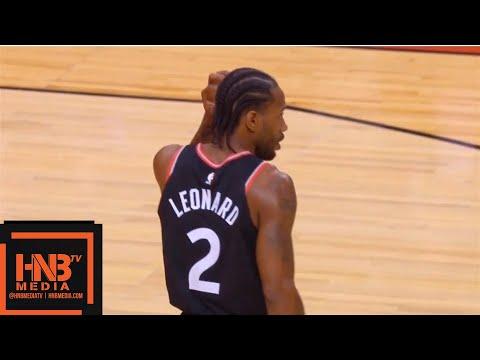 Toronto Raptors vs Charlotte Hornets 1st Half Highlights   10.22.2018, NBA Season