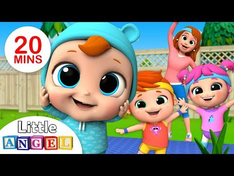 Head, Shoulders, Knees and Toes | Johny Johny Yes Papa +More Nursery Rhymes by Little Angel