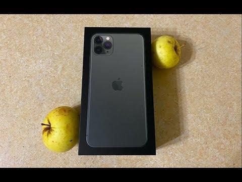 IPhone 11 Pro Max Распаковка