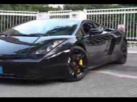 Lamborghini Gallardo Nera Edition Youtube