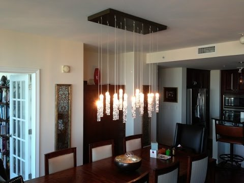 Modern Chandeliers for Dining Room  YouTube