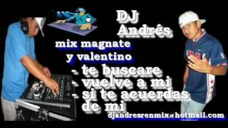 mix vuelve a mi , te buscare ,si te acuerdas de mi - magnate y valentino - wWw.DJAndresPeru.Com