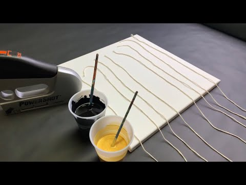 Fluid Art STRING PULLING 8 at ONCE?? Acrylic Pouring Beginners Extravaganza!! Wigglz Art Must see!!