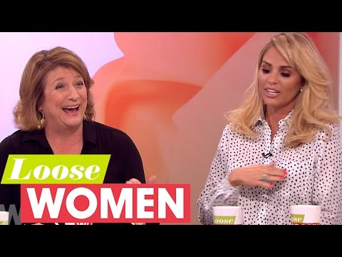 Caroline Quentin Gets Questioned About Her Sex Life By Katie Price  Loose Women