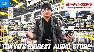 Visiting Tokyo's BIGGEST Audio Store! - Yodobashi Akiba! ( Quick Walkaround )( Filipino / English )