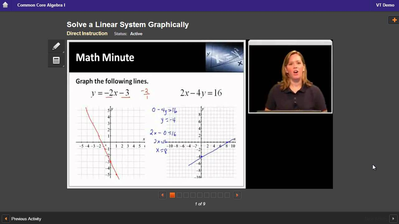 Algebra I Course Sample | Edgenuity - YouTube