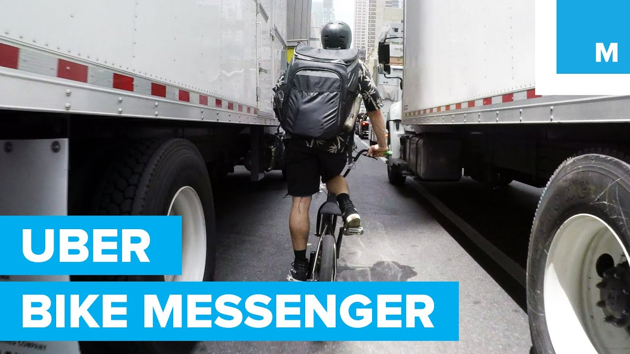 Uberrush Bike Messenger How Much Can You Make In A Day Youtube