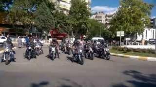 Türkchopper Motor Kulübü Gaziantep Üyeleri Kahramanmaraş'ta