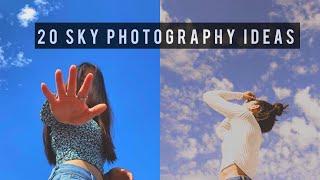 30 Sky Selfie Poses Sky Selfie  Deas  Nstagram Selfie Poses