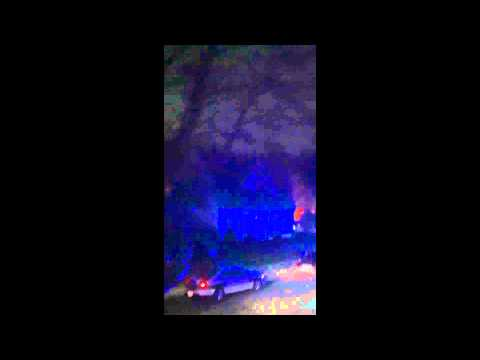 Marathon Bomber Suspects Shootout Watertown, MA, 2013April19