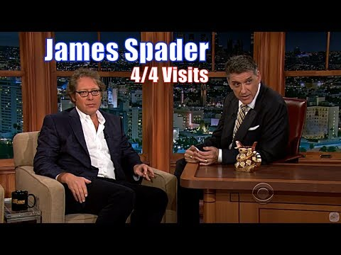James Spader - 2 Beautiful Personalities Conversing - 4/4 Appearances on Craig Ferguson [240-720p]
