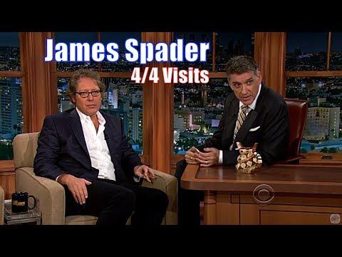 James Spader  2 Beautiful Personalities Conversing  44 Appearances on Craig Ferguson 240720p
