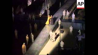 ITALY: GREEK DRAMA AT THE COLOSSEUM