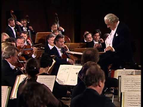 Brahms Piano Concerto No 1 -  Barenboim, Celibidache, 1991