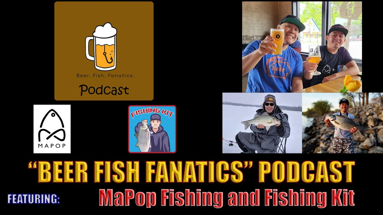 """""""Beer Fish Fanatics Podcast!"""" -- Craft Beer and Fishing Talk,  A Perfect Match!"""