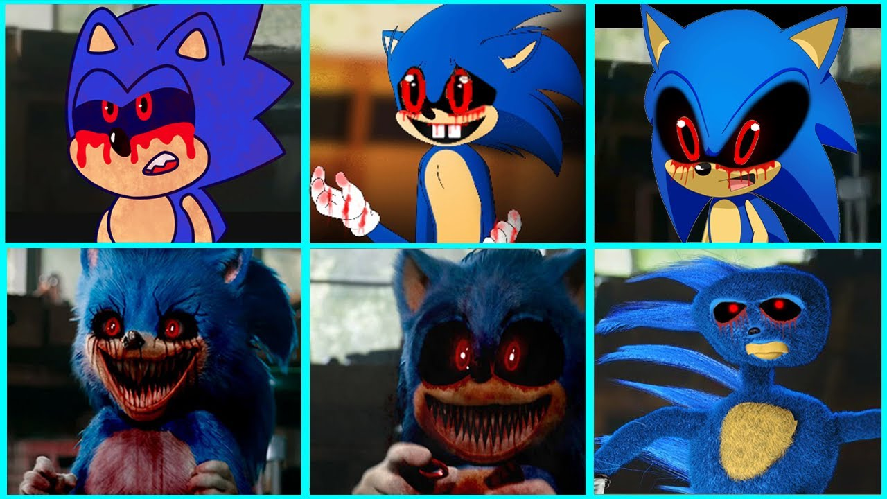 Download Sonic The Hedgehog Movie - Sonic EXE Uh Meow All Designs Compilation 2