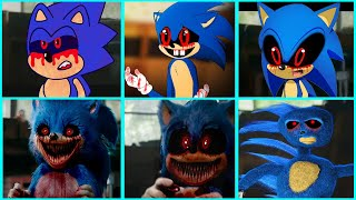 Sonic The Hedgehog Movie - Sonic EXE Uh Meow All Designs Compilation 2
