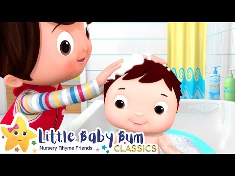 Bath Time Song! + More Nursery Rhymes & Kids Songs - ABCs and 123s | Little Baby Bum
