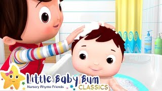 Bath Time Song! + More Nursery Rhymes & Kids Songs - ABCs and 123s | Learn with Little Baby Bum