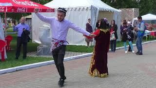 Узбекский народный танец - Сабантуй 2018 в Екатеринбурге