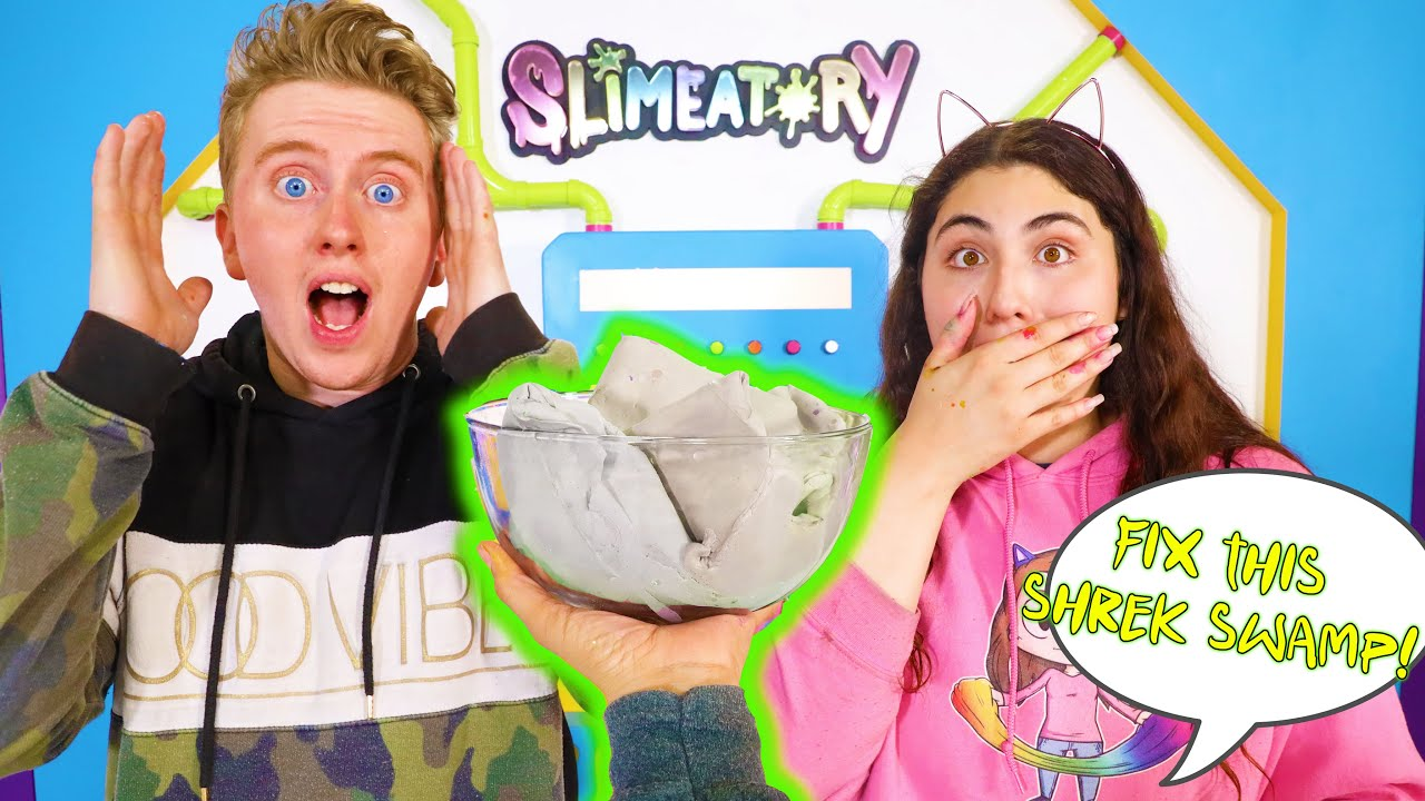 FIX THIS SLIME! with all the ingredients you want CHALLENGE! Slimeatory #647