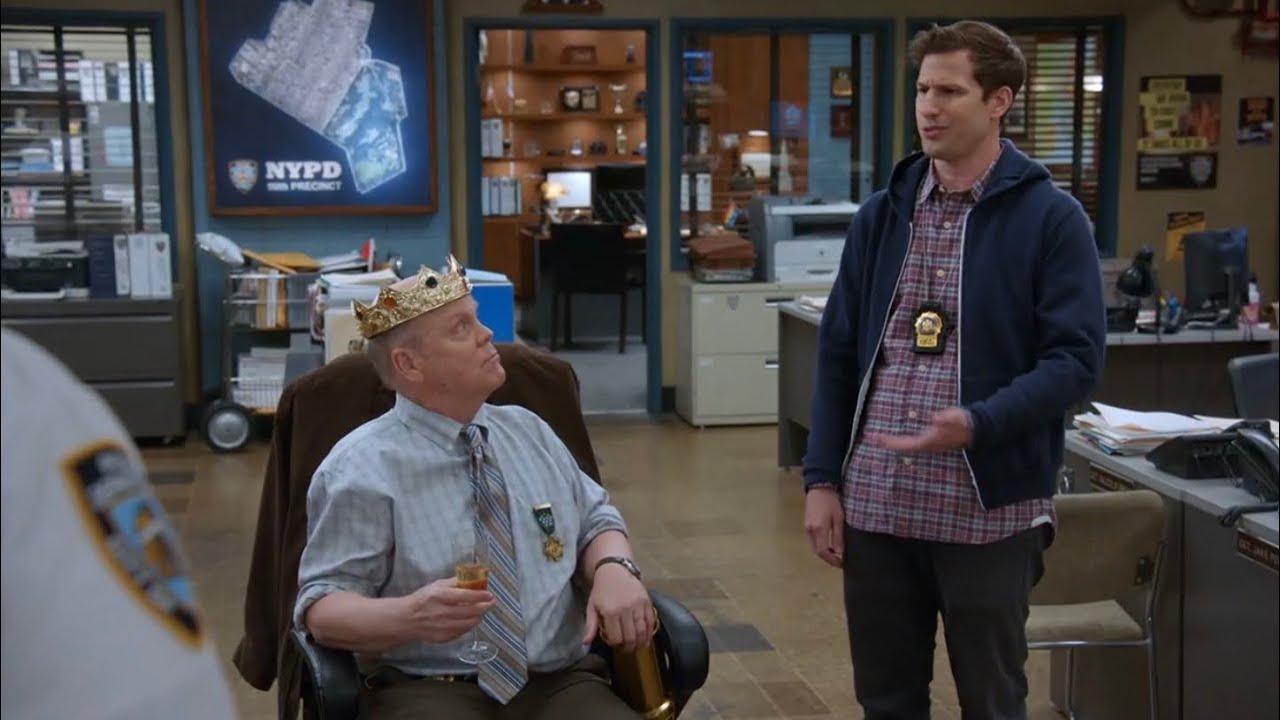 Download Hitchcock Wins The Final Heist / Jake's Goodbye Speech   Brooklyn 99 Season 8 Episode 10