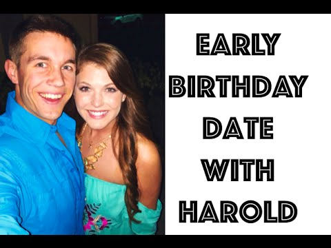 Early Birthday Celebration with Harold!