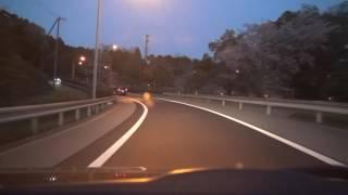 東名高速道路 音羽蒲郡IC出口 2017.4.13 NSCD-W66 ETC連動