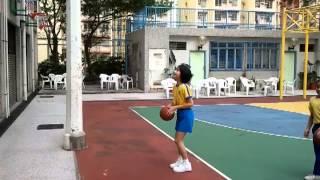 2011-12 藍田循道衛理小學女子籃球隊練波剪影 2