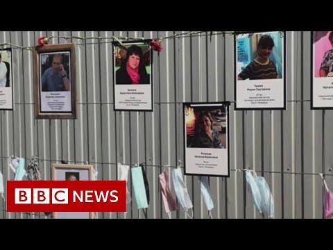 Coronavirus: Russian hospital staff 'working without masks' - BBC News