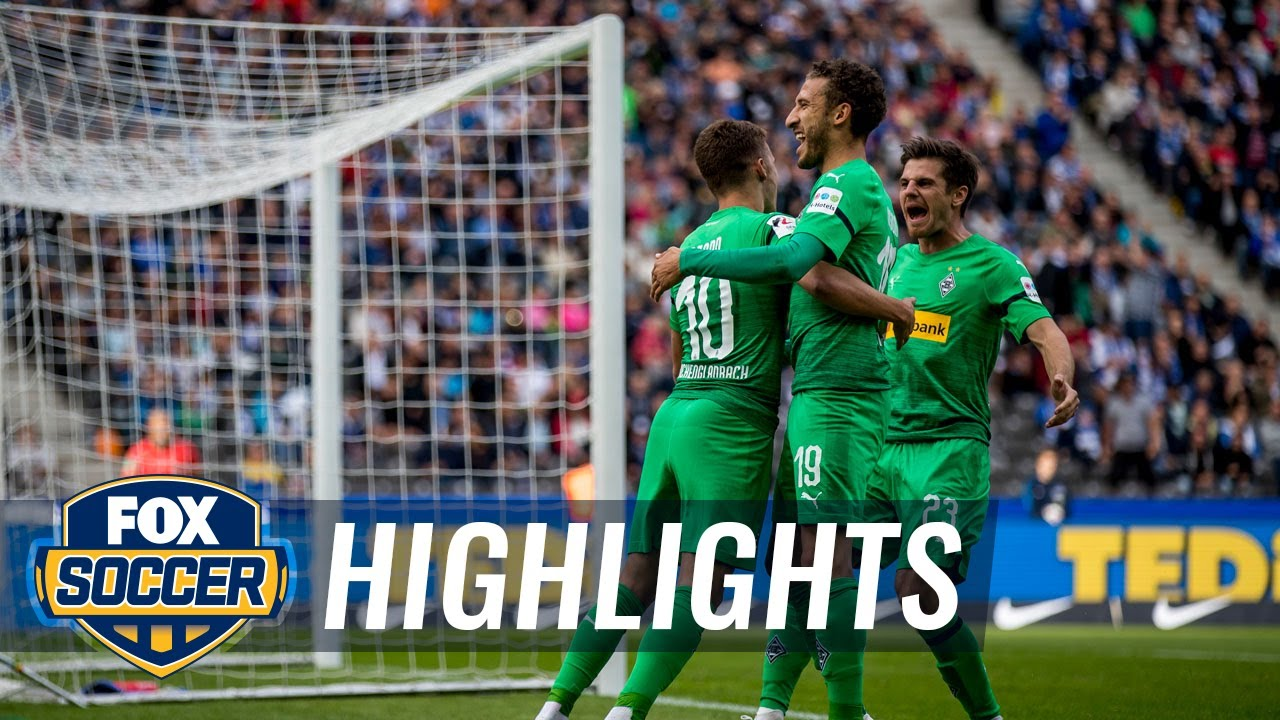 Hertha BSC Berlin vs. Monchengladbach | 2018-19 Bundesliga Highlights