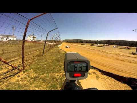 Dog Hollow Speedway - 4/16/16 Crate Late Model Practice Session #2